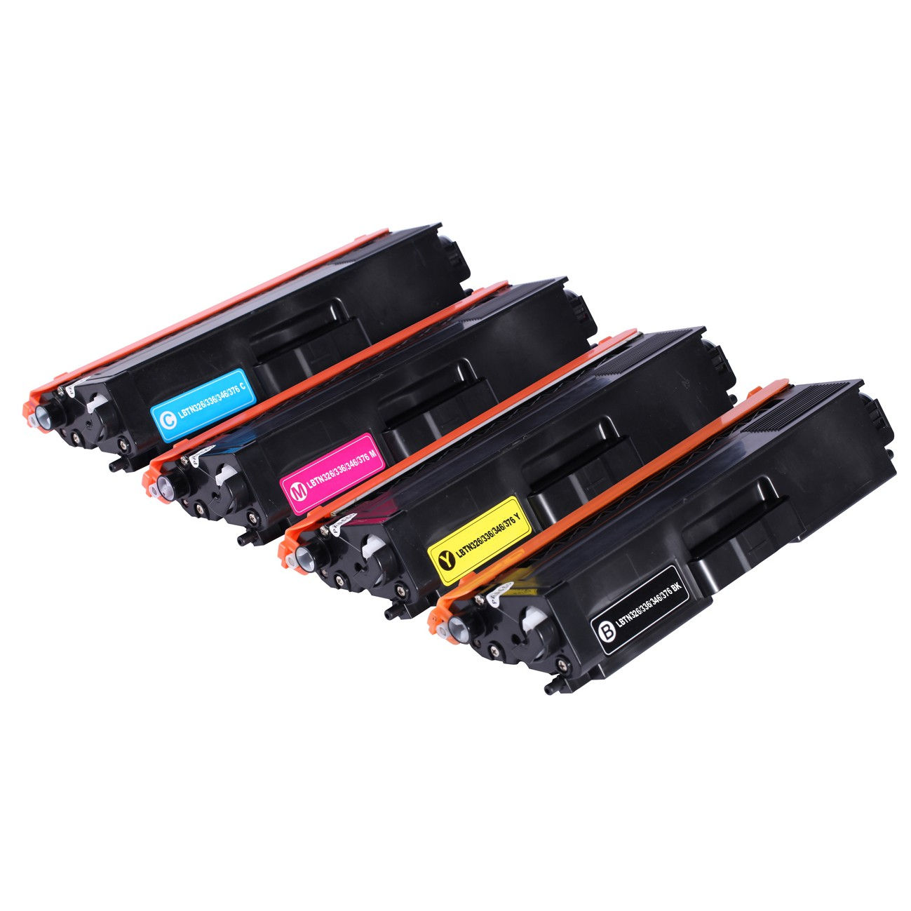 Compatible toner cartridge for Brother TN326/336/346/376 BK/C/M/Y